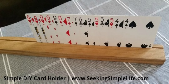 Little Hands Want To Play Cards Too Simple Diy Cardholder